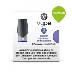 6x2 capsules Epen 3 Cassis On Ze Banquise