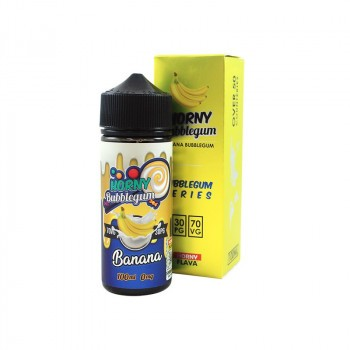Horny Banana Bubblegum 100mL 0mg