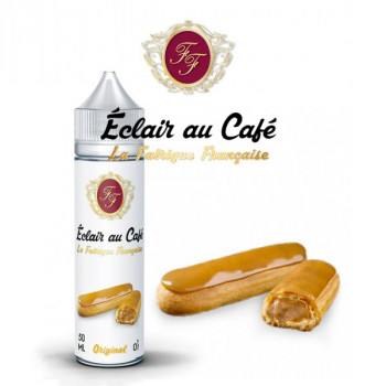 L'Éclair au Café 50ml 0mg + 1 Booster