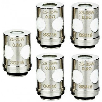Mèches EUC Ceramic x5 [Vaporesso]
