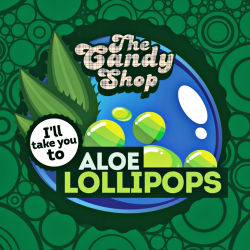 Concentré Aloe Lollipops 10mL [Candy Shop, Big Mouth]