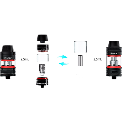 Glass extension TFV8 Baby, 2.0/3.5mL [Smok]