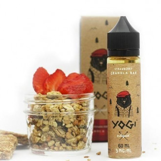 Strawberry Granola 60 ml 00 mg (Yogi Juice)