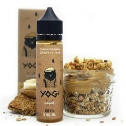 Peanut Butter & Banana Granola 60 ml 00 mg (Yogi Juice)