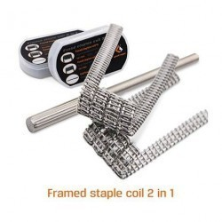 Pack 8 coils Framed Staple Clapton [Geek Vape]