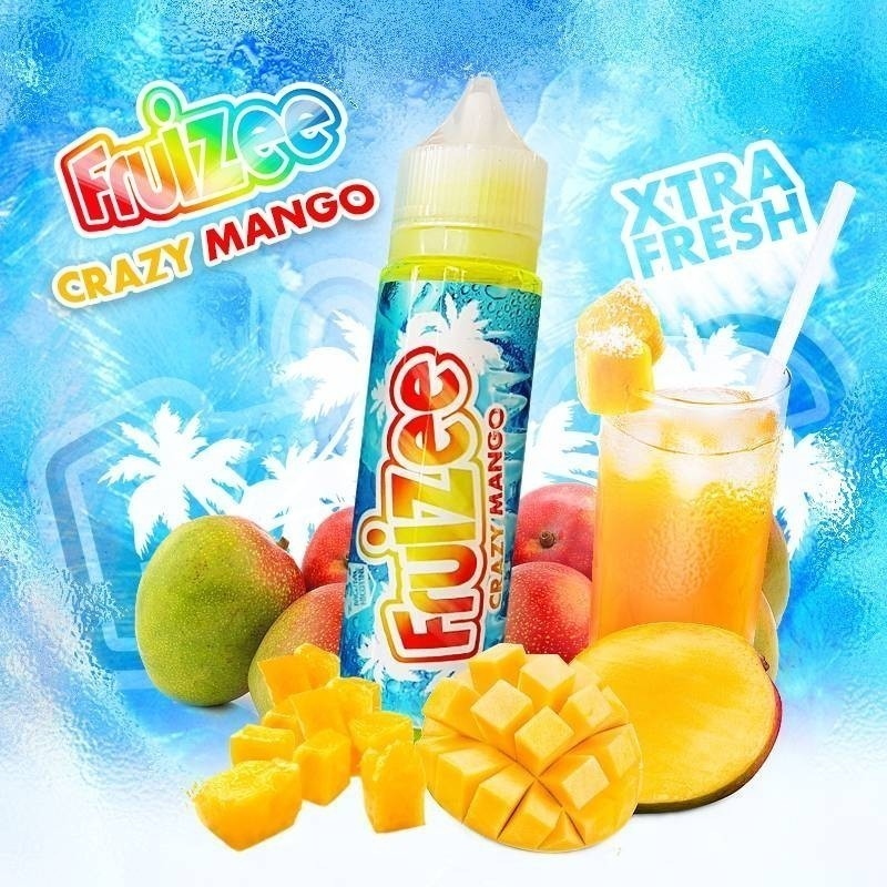 Crazy Mango  50ml 0mg [Fruizee]